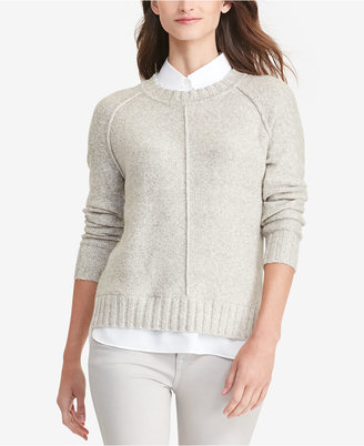 Lauren Ralph Lauren Layered Marled Sweater $99.50 thestylecure.com
