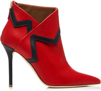 Malone Souliers x Emanuel Ungaro Amelie Leather Ankle Boots