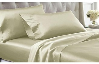 Satin Dreams 4Pc Solid Satin Sheet Set
