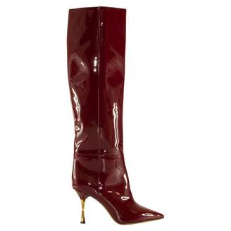 Valentino Red Leather Boots