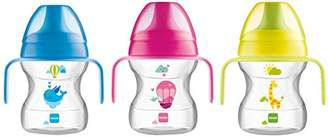 Mam Patterned Trainer Cup with Handles – Suitable for 6 Months Plus, 190ml – Colour Assorted