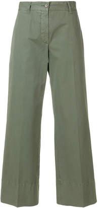 Aspesi wide leg cropped pants