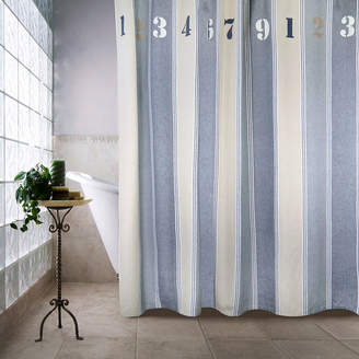 B. Smith Park Numbers Shower Curtain