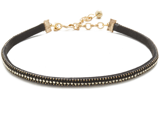 Vanessa Mooney Aster Choker Necklace $40 thestylecure.com