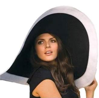 FORBUSITE Women's Elegant 17cm Large Wide Brim Floppy Beach Hat HBB