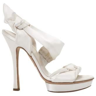 Alberta Ferretti Cloth sandals