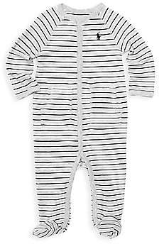 Ralph Lauren Baby Boy's Striped Cotton Coverall