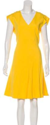 Akris Punto Structured Sleeveless Dress