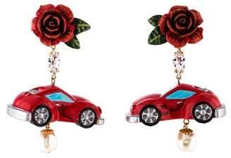 Dolce & Gabbana Car Sharing Drop Earrings