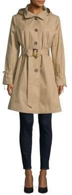 Donna Karan Belted Trench Coat