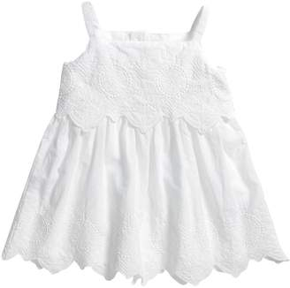 Mamas and Papas Baby Girls Strappy Embroidered Dress