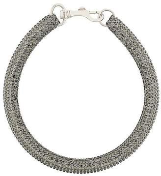 Christopher Kane slim bolster necklace