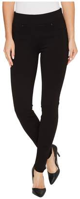 Liverpool Piper Hugger Pull-On Leggings in Silky Soft Ponte Knit with Lift and Shape Qualities in Black Women's Jeans