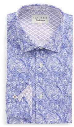 Ted Baker Messera Trim Fit Print Dress Shirt