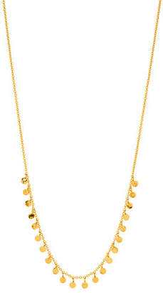 Gorjana Chloe Mini Dangling Disc Necklace