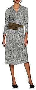 LES COYOTES DE PARIS Women's Linde Abstract-Print Shirtdress - Gray