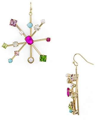 RJ Graziano Starburst Drop Earrings