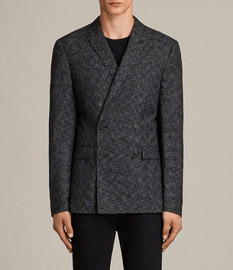 AllSaints Farndale Double-Breasted Blazer