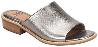 Sofft Leather Slide Sandals - Nola