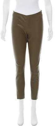 Drome Leather Mid-Rise Pants