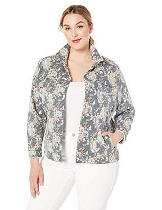 Lucky Brand Women's Plus Size Denim Trucker Jacket