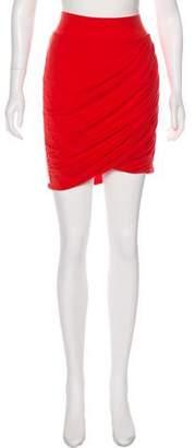 Helmut Lang Mini Knit Skirt