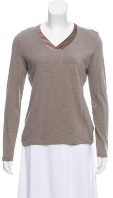 Fabiana Filippi Long Sleeve Jersey Top