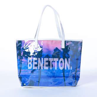 Benetton (ベネトン) - 【BENETTON】ビーチプリントトートバッグ