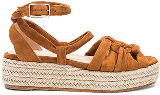 Castaner Rosalia Wedge in Brown $397 thestylecure.com