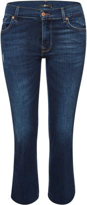 7 For All Mankind Cropped Boot Slim Jeans