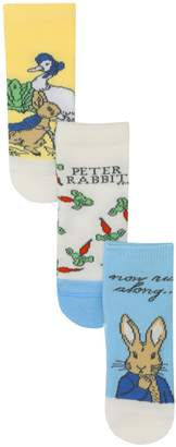 M&Co Peter Rabbit socks three pack