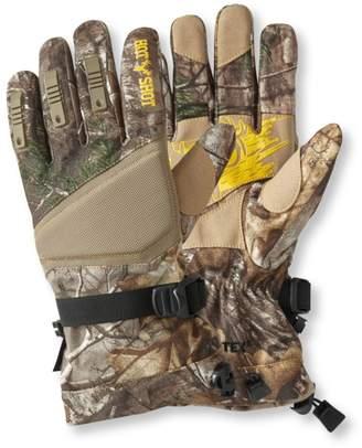 L.L. Bean L.L.Bean Men's Hot Shot Lynx Gore-Tex Hunting Gloves