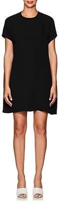 Lisa Perry Women's Silk Crepe Flyaway Dress - Black