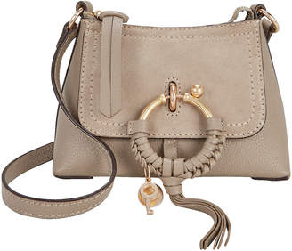 See by Chloe Joan Mini Grey Crossbody Bag