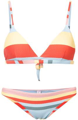 Asceno Striped Bikini