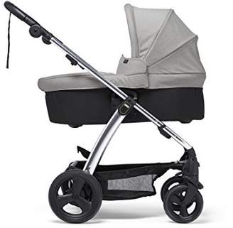 Mamas and Papas Sola2 Lightweight Pushchair with Dual Position Seat, Compact Fold & Dual Suspension Wheels - Light Grey