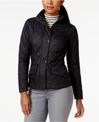 Barbour Flyweight Cavalry Quilted Coat $199 thestylecure.com