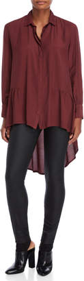 Made In Italy Hi-Low Shirt Tunic