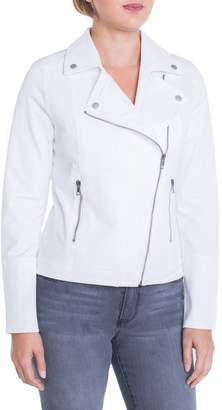 Liverpool Stretch Cotton Moto Jacket