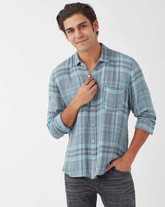 Splendid Plaid Button Down Shirt
