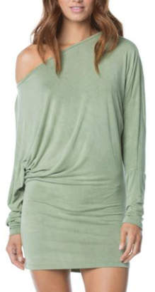 Elan International Wide neck tunic dress