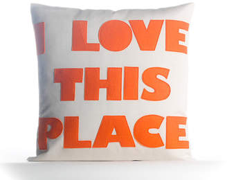 Alexandra Ferguson I Love This Place Outdoor Throw Pillow