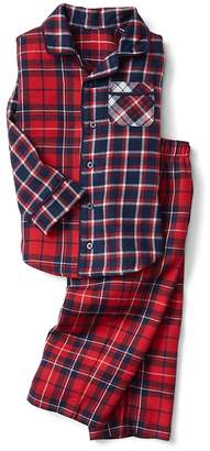 Gap Mix-plaid flannel classic PJ set