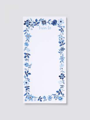 Draper James Floral Notepad