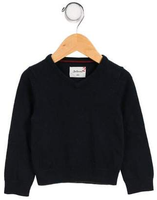 Bellerose Kids Boys' Knit V-Neck Sweater
