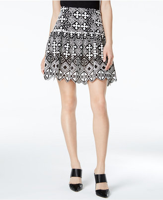 Mare Mare Loki Printed High-Waist Skirt $79 thestylecure.com
