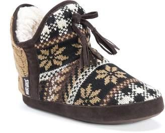 Muk Luks Women's PENNLEY Slipper-Camel