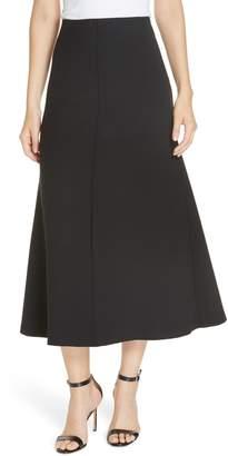 Smythe Fit & Flare Midi Skirt