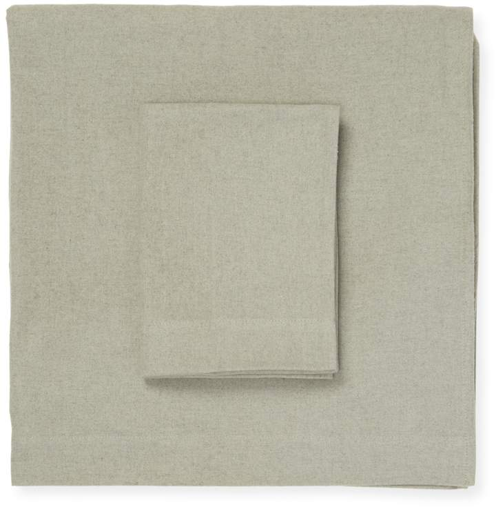 Overdye Heather Flannel Sheet Set