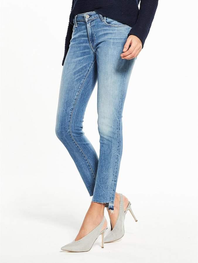Dominiqli Cropped Bootcut Jean